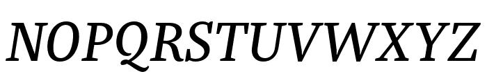 Bagatela MediumItalic Font UPPERCASE