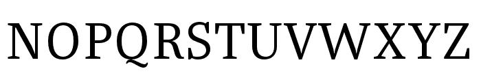 Bagatela Regular Font UPPERCASE
