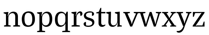 Bagatela Regular Font LOWERCASE