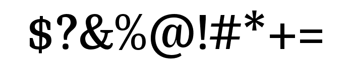 Bagatela Semibold Font OTHER CHARS