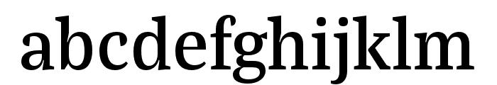 Bagatela Semibold Font LOWERCASE