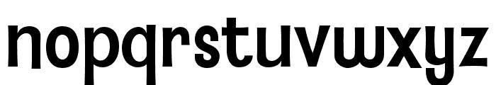 BaileywickJFGothic Regular Font LOWERCASE
