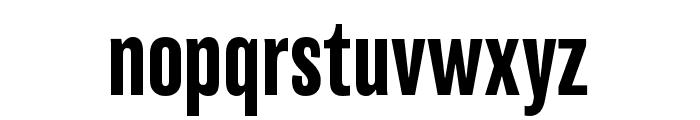 Balboa ExtraCondensed Font LOWERCASE