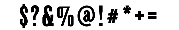 BalboaPlus Gradient Font OTHER CHARS