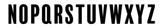 BalboaPlus Gradient Font UPPERCASE