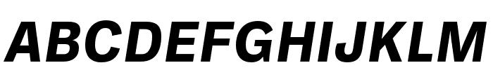 Ballinger Bold Italic Font UPPERCASE