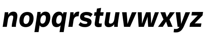 Ballinger Bold Italic Font LOWERCASE