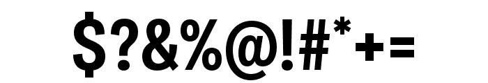 Ballinger Condensed Bold Font OTHER CHARS