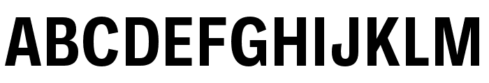 Ballinger Condensed Bold Font UPPERCASE