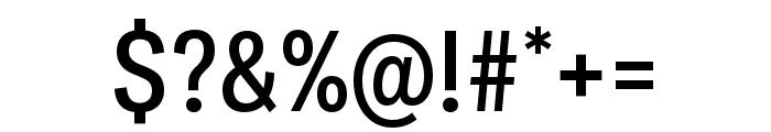 Ballinger Condensed Medium Font OTHER CHARS