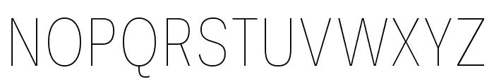 Ballinger Condensed Thin Font UPPERCASE
