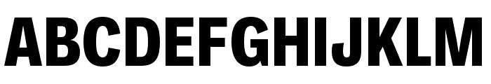 Ballinger Condensed X Bold Font UPPERCASE