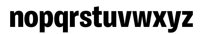 Ballinger Condensed X Bold Font LOWERCASE