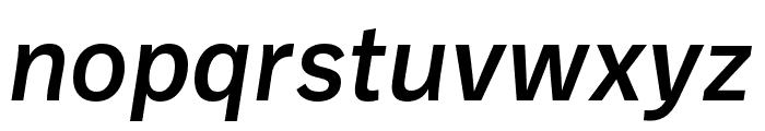 Ballinger Medium Italic Font LOWERCASE