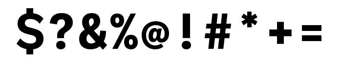 Ballinger Mono Bold Font OTHER CHARS
