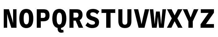 Ballinger Mono Bold Font UPPERCASE