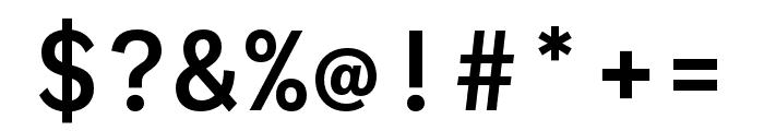 Ballinger Mono Medium Font OTHER CHARS
