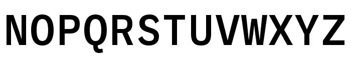 Ballinger Mono Medium Font UPPERCASE