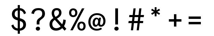 Ballinger Mono Regular Font OTHER CHARS