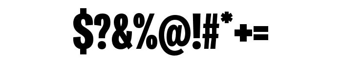 Ballinger X Condensed Black Font OTHER CHARS