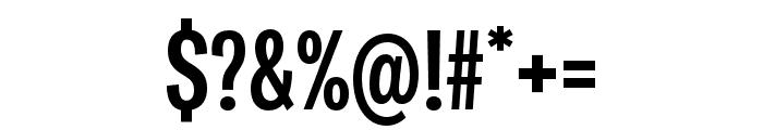Ballinger X Condensed Bold Font OTHER CHARS