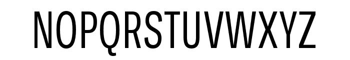 Ballinger X Condensed Regular Font UPPERCASE