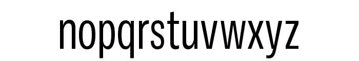 Ballinger X Condensed Regular Font LOWERCASE