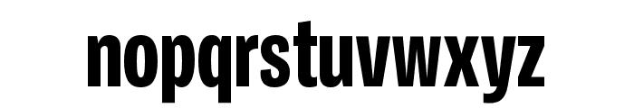 Ballinger X Condensed X Bold Font LOWERCASE