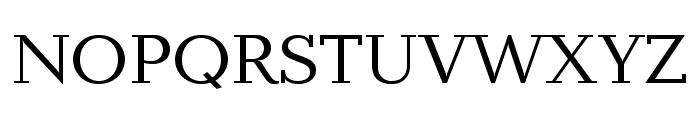 Baltica ExtraCond Regular Font UPPERCASE