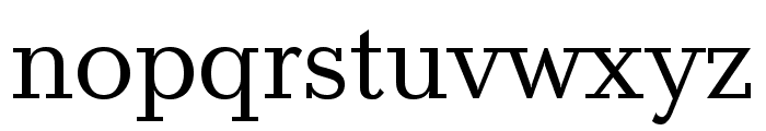 Baltica ExtraCond Regular Font LOWERCASE