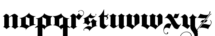 BaroqueTextJF Regular Font LOWERCASE