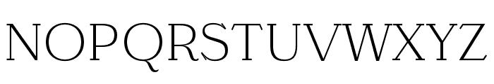 Barteldes Small Light Font UPPERCASE