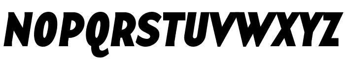 Base 12 Serif OT Bold Italic Font UPPERCASE