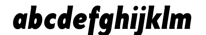 Base 9 Sans OT Bold Italic Font LOWERCASE