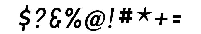 Base 9 Sans OT Reg Italic Font OTHER CHARS