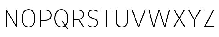 Basic Gothic Pro Italic Font UPPERCASE