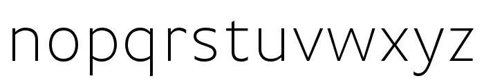 Basic Gothic Pro Italic Font LOWERCASE