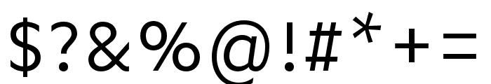 Basic Gothic Pro Regular Font OTHER CHARS