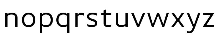 Basic Gothic Pro Regular Font LOWERCASE