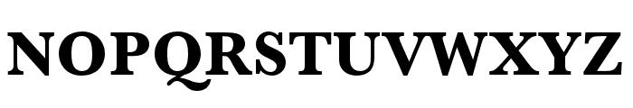 Baskerville URW Extra Bold Font UPPERCASE