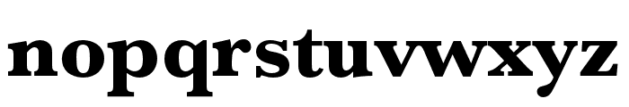 Baskerville URW Extra Bold Font LOWERCASE