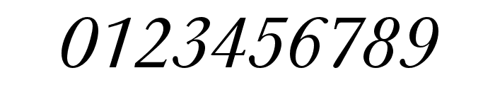 Baskerville URW Extra Narrow Regular Oblique Font OTHER CHARS