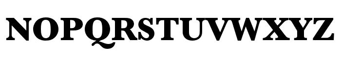 Baskerville URW Extra Narrow Ultra Bold Font UPPERCASE