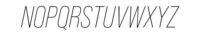 Bebas Neue Pro Expanded Bold Font UPPERCASE