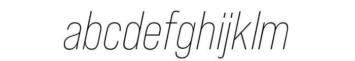 Bebas Neue Pro Expanded Bold Font LOWERCASE
