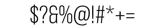 Bebas Neue Pro Expanded Book Font OTHER CHARS