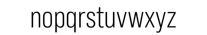 Bebas Neue Pro Expanded Book Font LOWERCASE