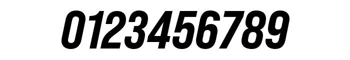 Bebas Neue Pro Expanded ExtraBold Italic Font OTHER CHARS