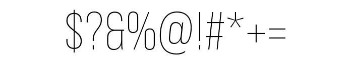 Bebas Neue Pro Expanded Light Font OTHER CHARS