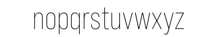 Bebas Neue Pro Expanded Light Font LOWERCASE
